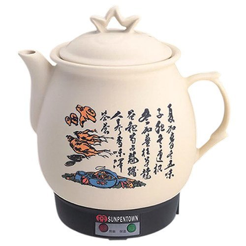 Sunpentown NY-656 3-4/5-Liter Chinese Herbal Medicine Cooker with Stainless Heater