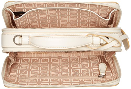 Lodis Cream Rfid Audrey Around Crossbody Sally Natural Zip dY4Y5qrw