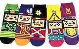 JJMax Women's Nutcracker German Dolls Anklet Socks Set