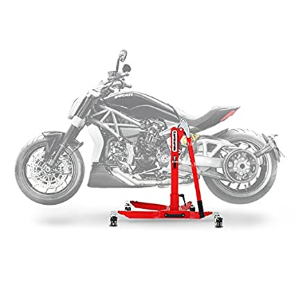Center Paddock Stand Lift ConStands Power Ducati Xdiavel 16 18 Red
