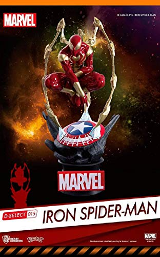 Beast Kingdom Avengers Infinity War: Ds-015 Iron Spider D-Select Series Statue (Iron Man Magnetic Floating Toy For Sale)