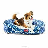 Best Brentwood Home Brentwood Home Memory Foam Dog Beds - BRINDLE Premium Waterproof Memory Foam Bolster Pet Bed Review