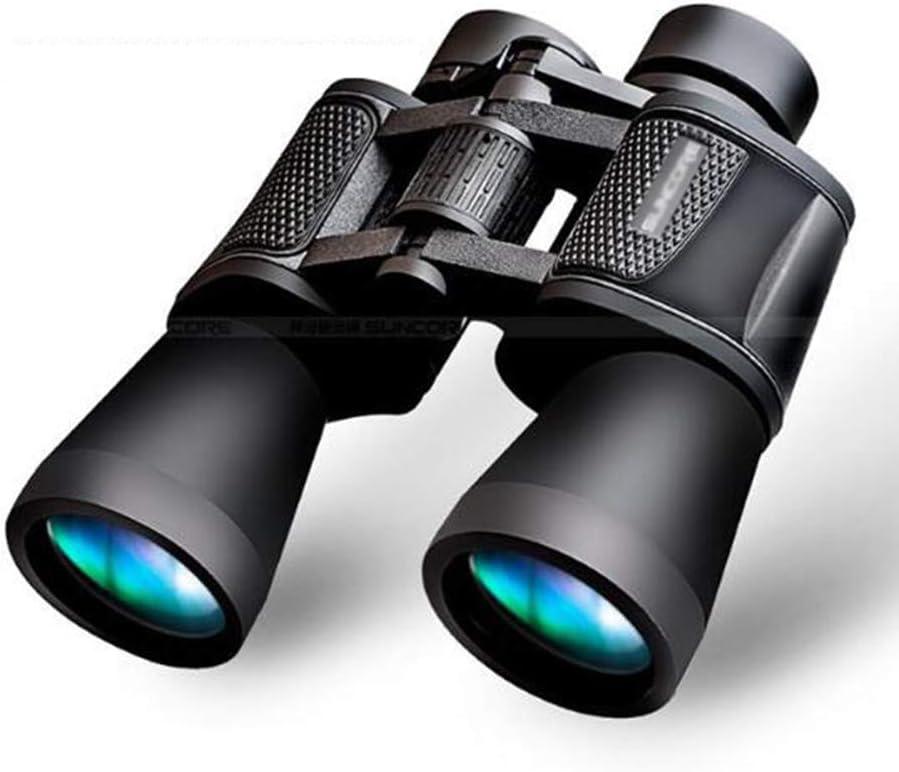Qnlly Prismáticos, 20X60 HD Telescopio BaK-4 Prisma FMC Multi-Capa Capa de Caza al aire libre Ojo de Pájaro Ultra-Clear View Field