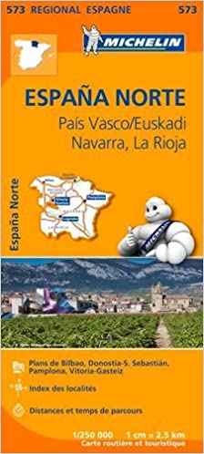 Carte Michelin Espagne Nord.Amazon Fr Carte Espagne Nord Pays Basque Michelin