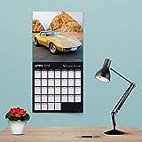 2018 Corvette Wall Calendar