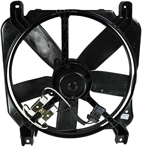 Radiator Cooling Fan Driver Side Left for Bonneville Park Avenue LeSabre 88 98