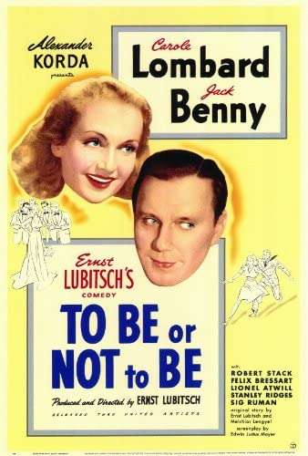 Amazon.com: To Be Or Not To Be POSTER Movie (27 x 40 Inches - 69cm x 102cm)  (1942): Posters & Prints