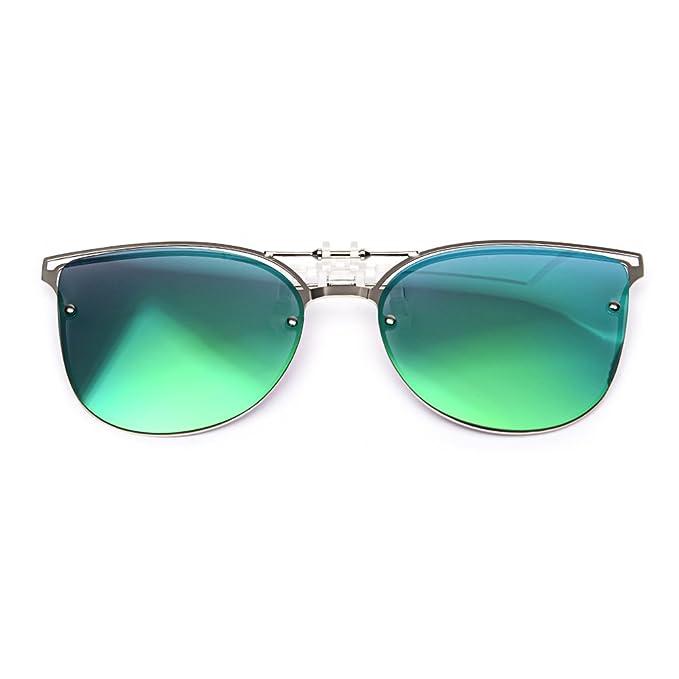 LUFF Gafas de sol polarizadas conducción clip función flip - up adecuado, nuevo diseño de gafas de sol al aire libre estilo ojo de gato: Amazon.es: Ropa y ...