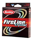 Berkley Fireline Fused Crystal Superline 300 Yd spool(4/1-Pound,Crystal), Outdoor Stuffs