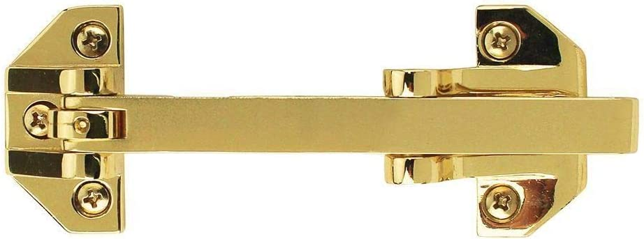 Value Collection Door Guard 6 Pack Brite Brass Finish