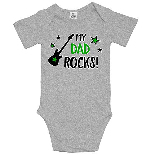 Dad Rocks Infant Creeper - 4