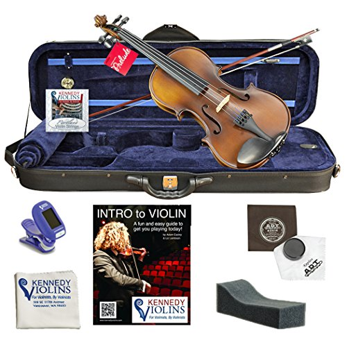 (Ricard Bunnel G2 Student Violin Outfit 1/8)