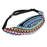New Fashion 3D Printing Camoufla Waist Bag Waist Fanny Pack Harajuku Bag 25