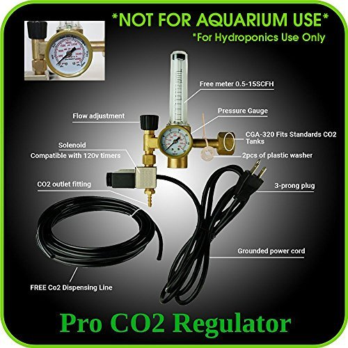 hydroponics-co2-regulator-emitter-system-with-solenoid-valve-accurate-and-easy-to-adjust-flow-meter-made-of-brass-shorten-up-and-double-your-time-for-harvesting-not-for-aquarium-use