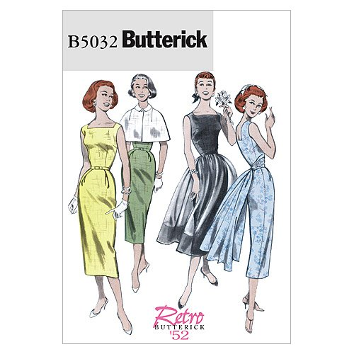 easy 50s style dress patterns - 2