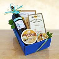 California Delicious Cabernet Classic Wine Cheese Food Gift Basket