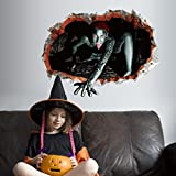 Tools & Hardware : 3D Wall Sticker,Elevin(TM)2017 Happy Halloween Household Room Wall Floor Sticker Mural Decor Decal Removable (A-1)