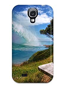 Series Skin Case Cover For Galaxy S4(surfer Waves)