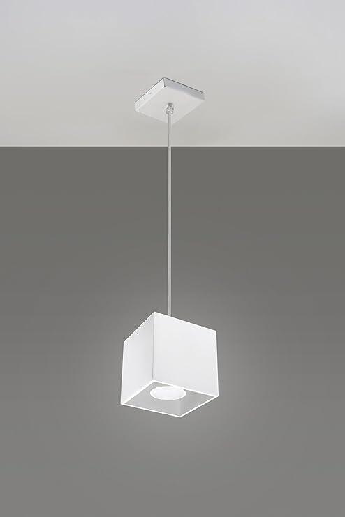Bauhaus - Lámpara de techo (Diseño hogar, en blanco ...
