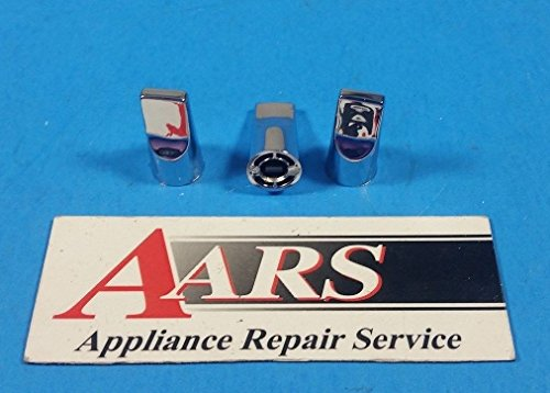 WB3X459, WB03X0459 GE Range Oven Clock Timer Knobs Set of 3 WB3X459 ; D14T ..#from-by#_aarsparts2014_15182202655075
