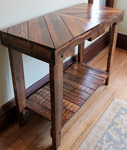 Solid Wood Pallet Sofa Entry Table