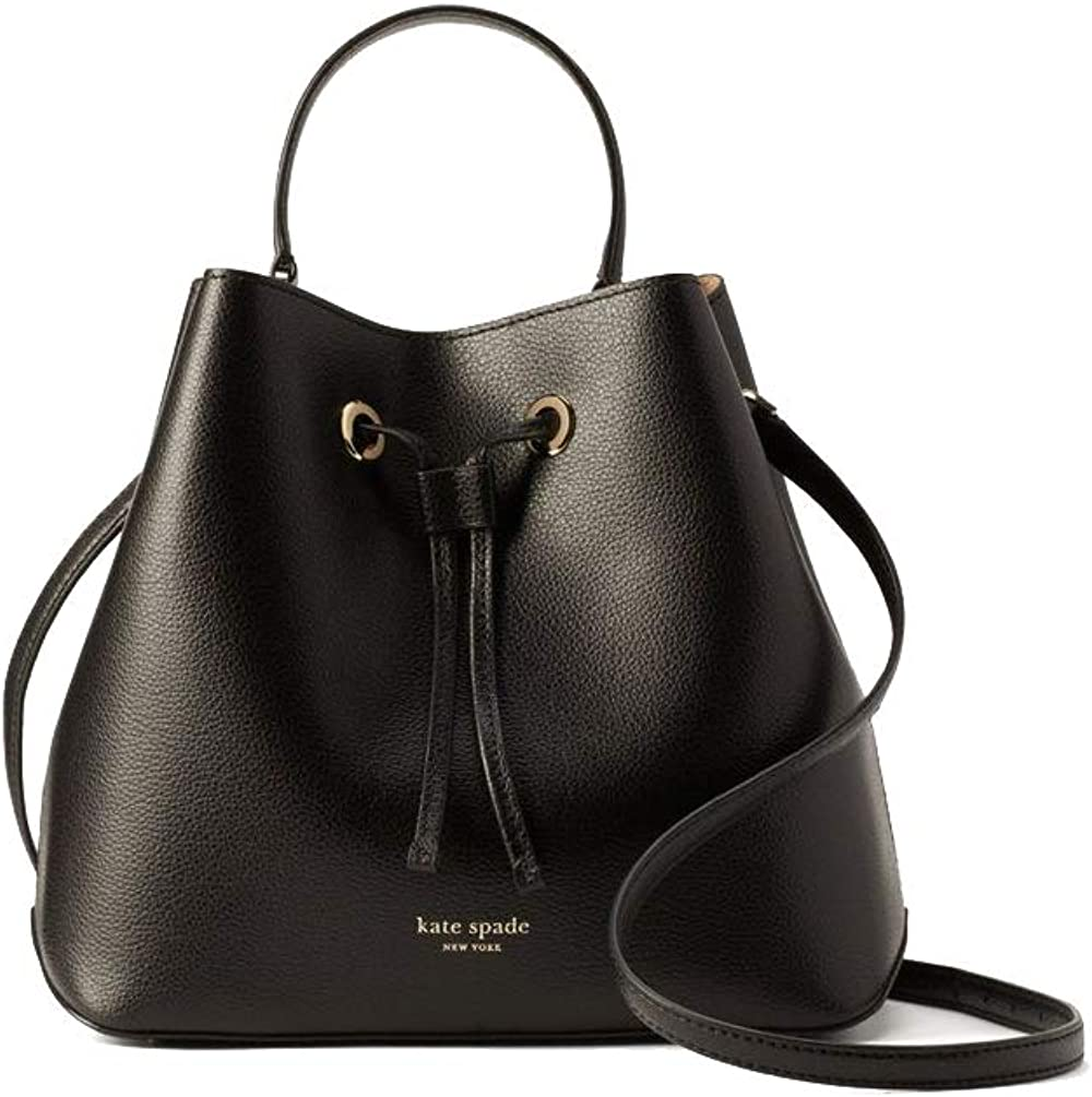 Kate Spade NY Eva Large Leather Bucket Crossbody Purse