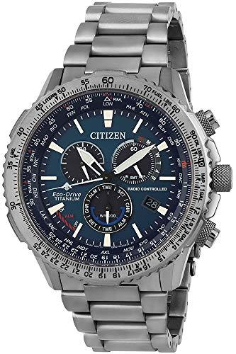 Citizen Menswatch CB5010-81L chronographs, Radio-Controlled Clocks