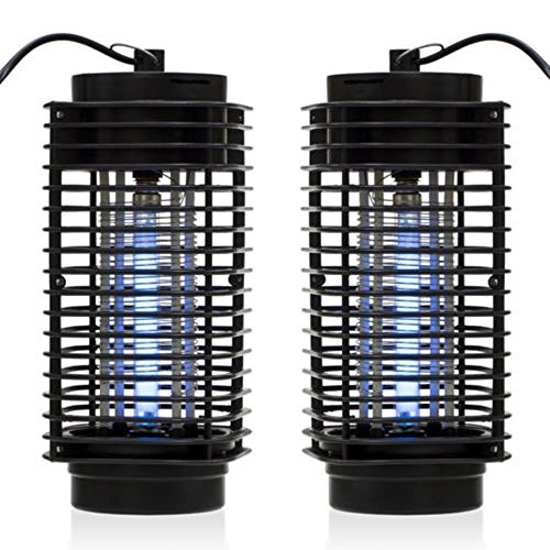 2X Electric Mosquito Fly Bug Insect Zapper Killer Trap Lamp 110V Stinger Pest - Road Boston Post Stores
