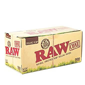 Amazon.com: RAW Organic Pre-rolled conos 1,25 Tamaño (84 mm ...