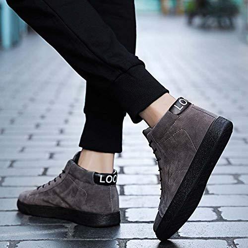 Inverno Scuro Oyedens Caldo Natale Stivali Outdoor Ankle Sportive Corsa Warm Boots Da Grigio Autunno Shoes Leather Snow Sneakers Scarpe Regalo Uomo zzvqnS4R