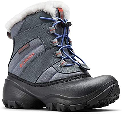 0f3d587a5ce Columbia Girls' Youth Rope Tow III Waterproof Snow Boot, Ti Grey ...