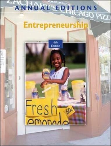 Annual Editions: Entrepreneurship, 6/e with FREE Annual...