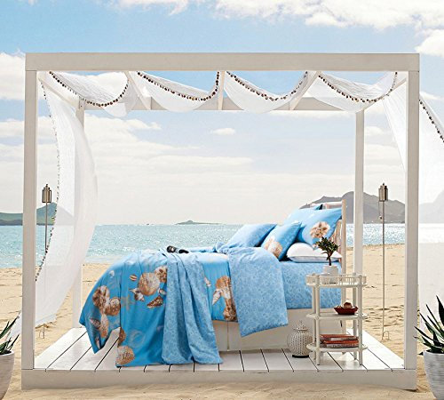 TheFit-Paisley-Bedding-for-Adult-T368-Relax-Beach-Duvet-Cover-Set-100-Cotton-Queen-King-Set-4-Pieces