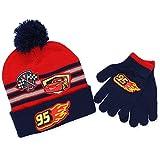 Disney Cars 3 Boys Beanie Hat and Gloves Set (Little Kid/Big Kid)