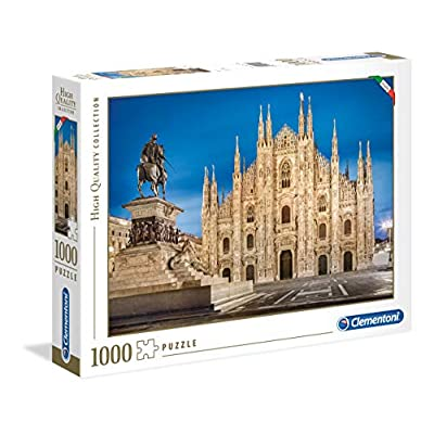 Clementoni 39454 High Quality Collection Puzzle Milano 1000 Pezzi