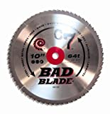 KwikTool USA BB1000 C7 Bad Blade 10-Inch 64 Tooth With 5/8-Inch Arbor