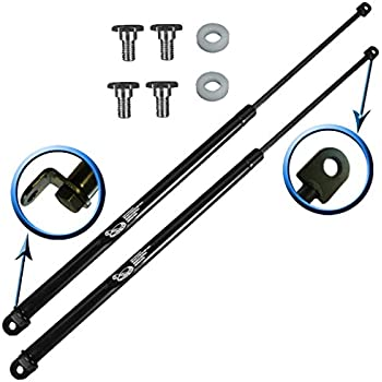 amazon com  two rear hatch trunk gas charged lift supports