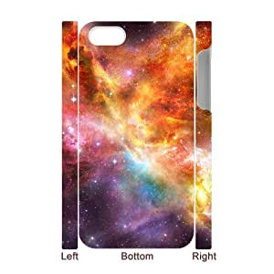 YCHZH Phone case Of Colorful Space Nebula Cover Case For Iphone 5C