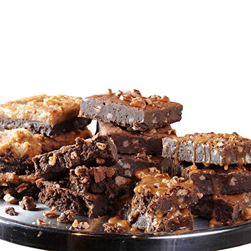 (Savannah's Candy Kitchen | Fudge Pecan Brownie Trio)