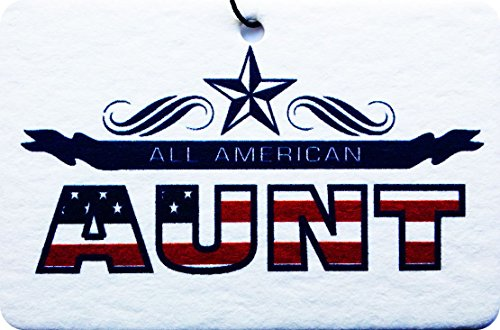 ALL AMERICAN AUNT CAR AIR FRESHENER