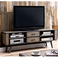Furniture of America Eldroa 72' TV Stand in Gray