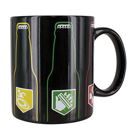 Paladone Call of Duty Epic Six Pack Heat Change Ceramic Coffee Mug