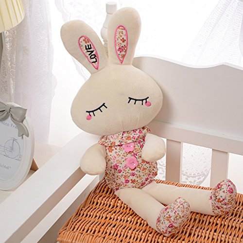 Sealive 1pc Girl Plush Toys Tusky Rabbit Tiramisu Shy Rabbit Doll Plush Toys Pillow Toys Factory Outlet Birthday Valentine's Or Christmas Day Gift,Home Pillow Dolls