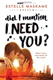 download ebook did i mention i need you? (did i mention i love you (dimily)) pdf epub