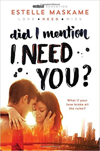 Amazon did i mention i need you did i mention i love you amazon did i mention i need you did i mention i love you dimily 9781492632184 estelle maskame books fandeluxe Image collections