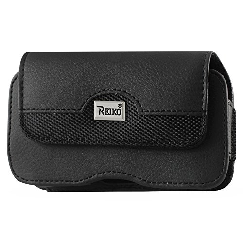 Reiko HP100B-HTCHD2PLBK Pochette horizontale pour HTC HD2/T8585 +-Noir