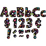 Teacher Created Resources Colorful Circles Funtastic Font 4-Inch Letters Combo Pack (5349)