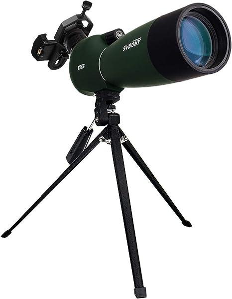 Svbony SV28 Telescopio Terrestre 25-75x70 Impermeable Prisma BAK4 ...