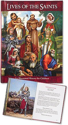 (Lives of the Saints an Illustrated History for Children)