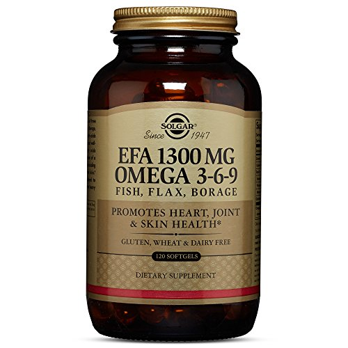 Solgar – EFA Omega 3-6-9 1300 mg, 120 Softgels (Omega Total 3)